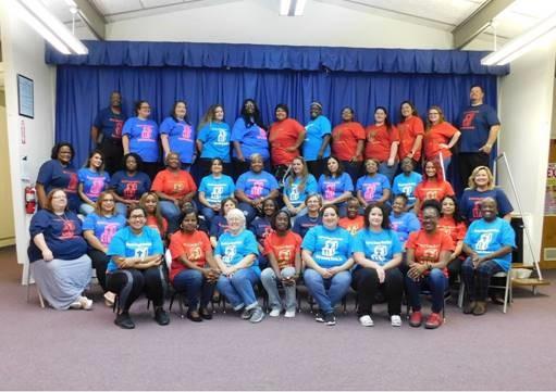 Brazoria County Head Start Early Learning Schools, Inc. staff